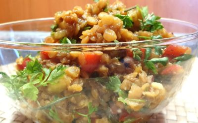 Rote Linsen Salat Rezept – einfach und schnell