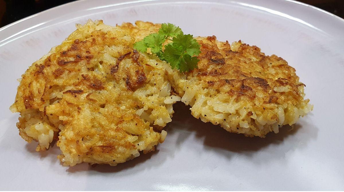 Gemüse Frikadellen aus Sellerie und Reis