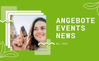 Wellness & gesunder Lifestyle: Angebote, Aktionen und News im Mai 2020