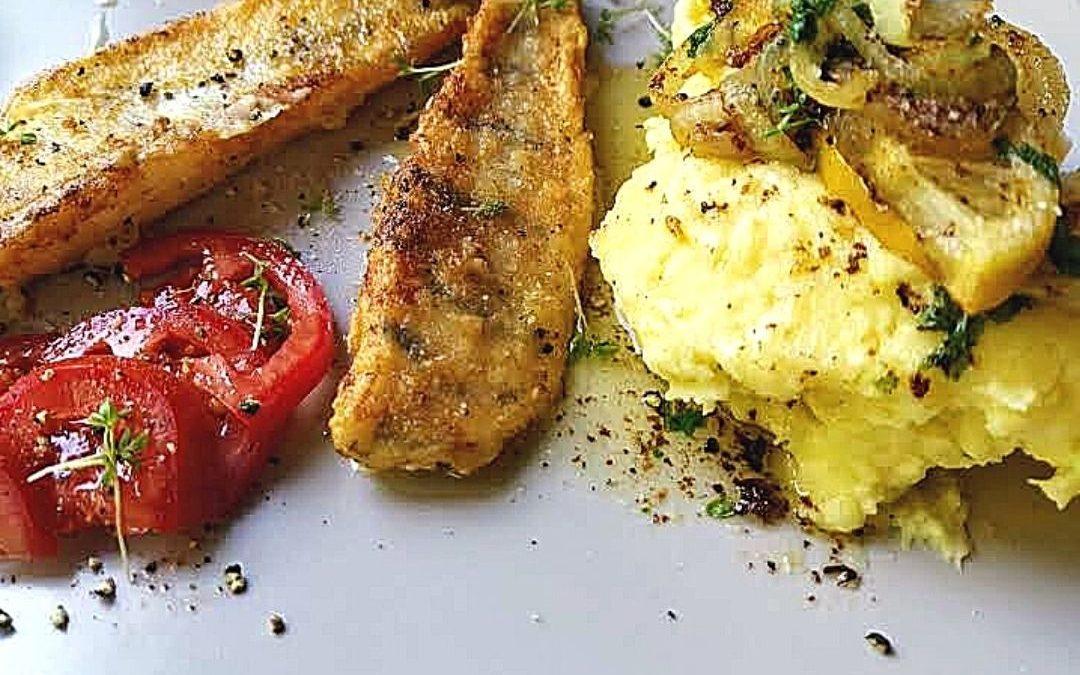 Zander mit Kartoffelbrei