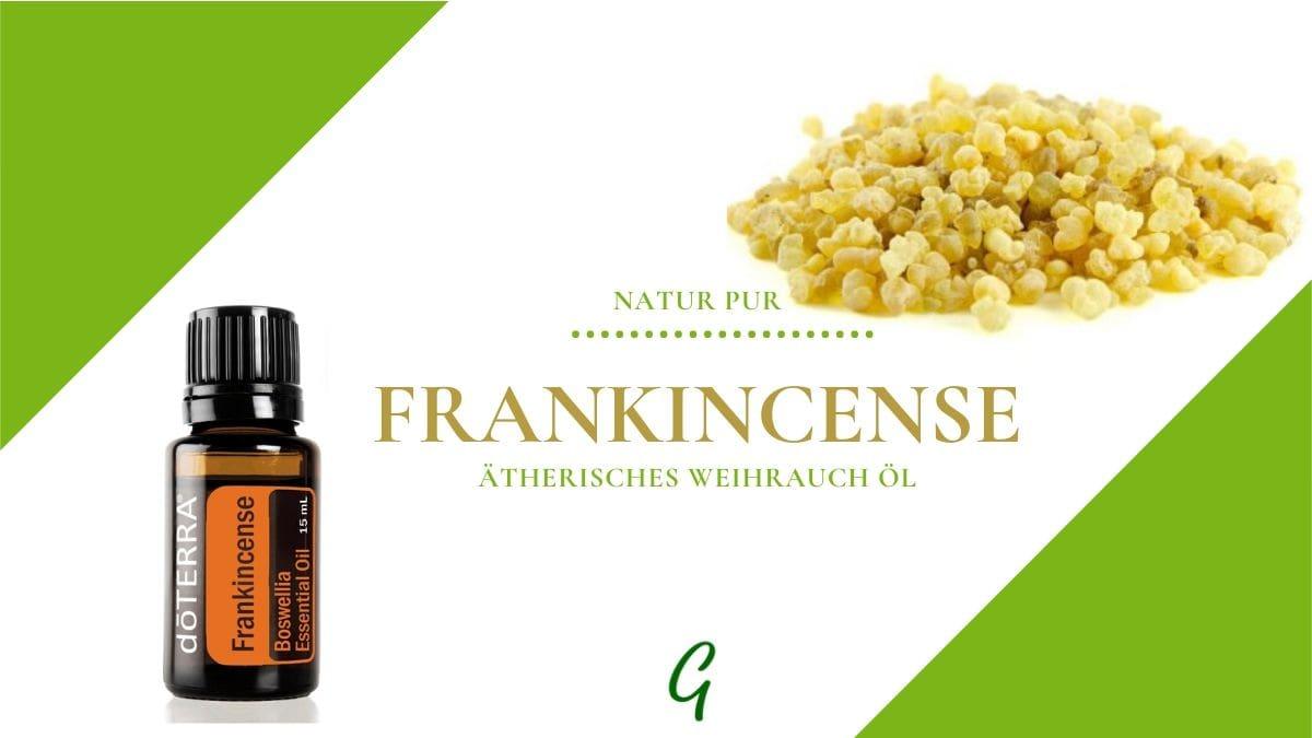 Frankincense - ätherisches Weihrauch Öl