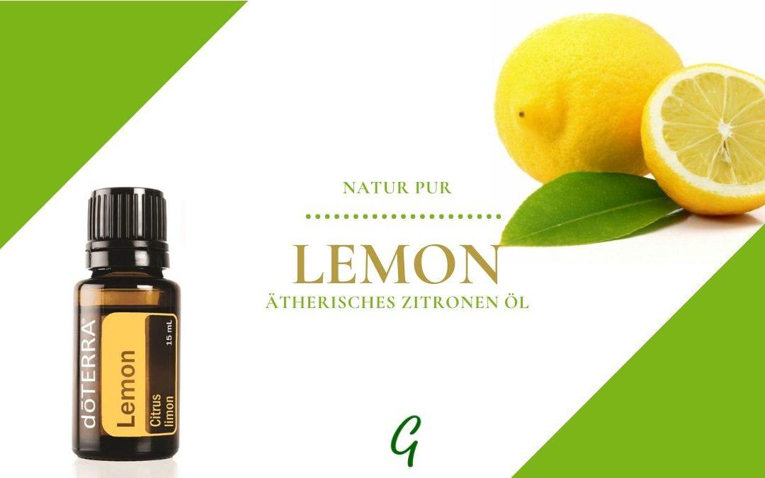 Lemon – ätherisches Zitronen Öl