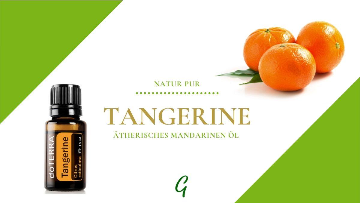 ätherisches Tangerine Öl - Mandarine von doTERRA