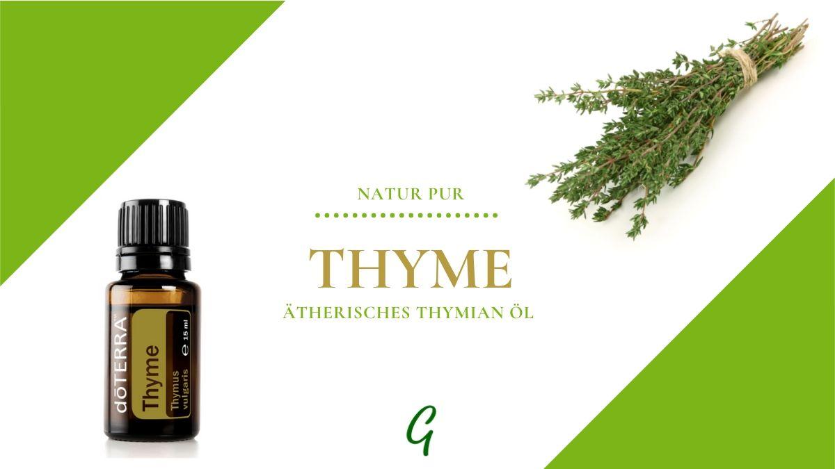 ätherisches Thymian Öl - Thyme von doTERRA