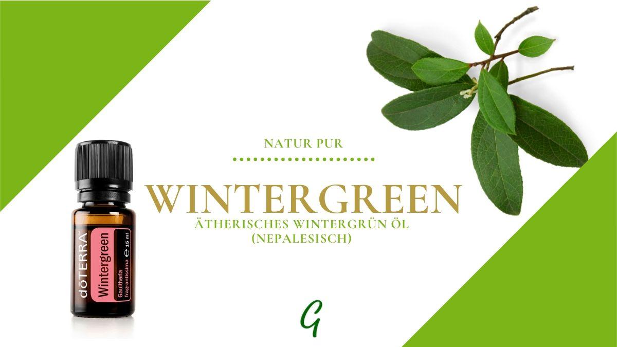 ätherisches Wintergreen Öl von doTERRA