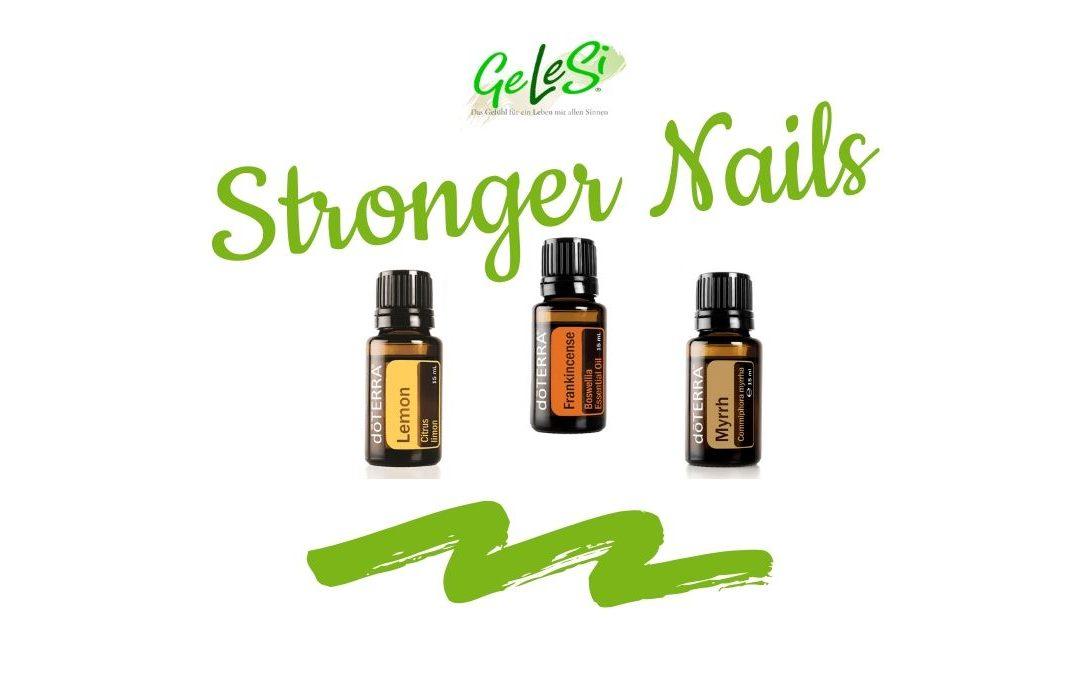 Stronger Nails mit den ätherischen Ölen: Lemon, Weihrauch und Mhyrr